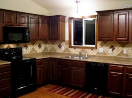 painted black kitchen cabinets before and after kitchen backsplash wonderful kitchen backsplash tile ideas
