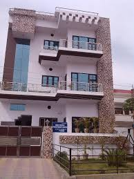 Indian Front Home Design Gallery A Beautiful Front House Elevation Design With Tile Cladding
