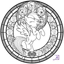 my little pony coloring pages of rainbow dash stained glass rainbow dash line art by akili amethyst on deviantart