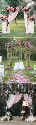 wedding arch no flowers 30 best floral wedding altars arches decorating ideas stylish