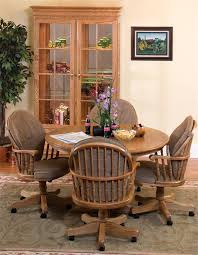 Amish Dining Room Chairs Heritage Swivel Dining Room Chair From Dutchcrafters Amish Furniture
