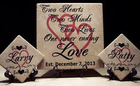 wedding plaques personalized personalized wedding sayings o reilly tiles
