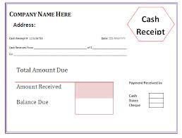 7 cash receipt form xavierax