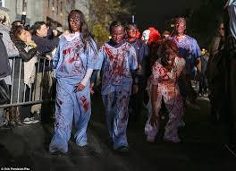Killer Nurse Halloween Costume Hazmat Suits Ebola Quarantines Center Stage Nyc