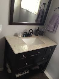 home depot bathroom vanities d bath vanity in old walnut with d