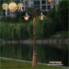Solar Lantern Lights Costco - lighting 5 light street lamp post led lights for lamp posts