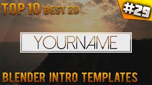2d intro templates for blender top 10 best blender 2d intro templates 29 free download