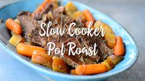 slow cooker pot roast with video the gunny sack