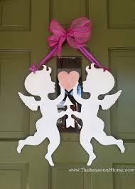 Valentine Door Decorations Ideas by My Re Purposed Valentine U0027s Day The Seasonal Home
