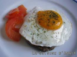 cuisiner steak haché recette steak haché à l oeuf la cuisine familiale un plat une
