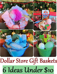 christmas gift basket ideas dollar stores are true gold mines for those who like putting