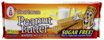 Sugar Free Cookies Voortman Peanut Butter 9 Ounce Package You