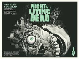 new poster night of the living dead by gary pullin u2013 mondo