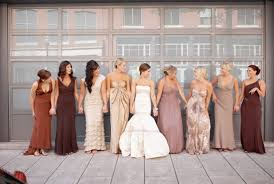 beautiful photos of different colored bridesmaid dresses elite