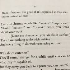 review several sentences about writing one library