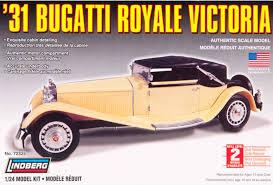 bugatti royale lindberg usa 1 24 scale u002731 bugatti royale victoria plastic model