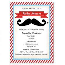 mustache baby shower invitations and adorable mustache baby boy shower invitations bs163