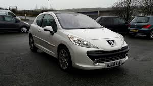 peugeot 207 2007 peugeot 207 gt car servicing u0026 repairs thornton motors