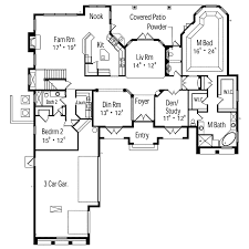 ariana manor mediterranean home plan 047d 0063 house plans and more