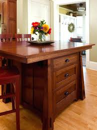 mission style kitchen island arts and crafts kitchen island mission style kitchens designs