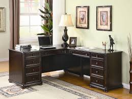 office desk awesome white black wood modern office design for