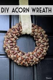 Diy Twig Wreath by Best 25 Acorn Wreath Ideas On Pinterest Acorn Crafts Pine Cone