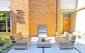 Yard Patio Sleek Modern Outdoor Living Space In Park Hill Mile High Landscaping