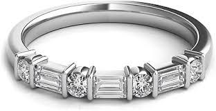 wedding band reviews baguette diamond wedding band sntwbap118a