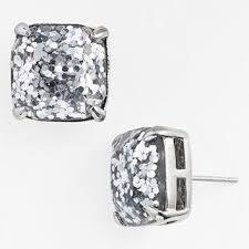 glitter stud earrings women s kate spade new york glitter stud from nordstrom