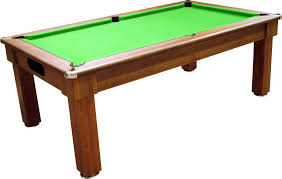 pool dining tables with custom brown wooden and green natural