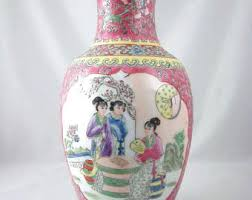 Antique Oriental Vases Chinese Vases Etsy