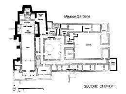 mission floor plans imposing mission santa barbara floor plan on floor 1 regarding