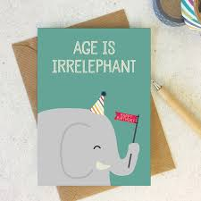 design animal pun card happy birthday birthday card