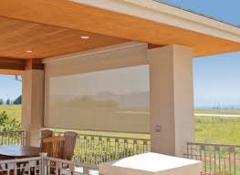 Outdoor Patio Pull Down Shades Roll Up Shades For Patio Home Outdoor Decoration