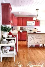 antique red kitchen cabinets u2013 subscribed me