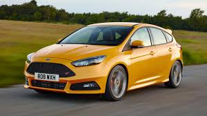ford focus st yellow 2017 ford focus st review top gear