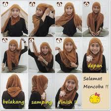 tutorial hijab segitiga paris simple january 2013 cara memakai jilbab modis