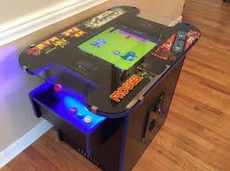 Table Top Arcade Games Ms Pacman U2013 Multicade Arcade Cocktail Table Castle Classic Arcade