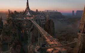 desert city bridge concept pinterest deserts sci fy and
