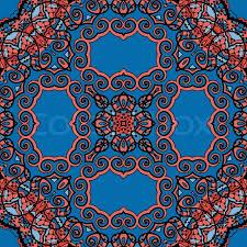 Pattern Ottoman Seamless Indian Wallpaper Tribal Ornamental Pattern Vintage