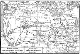Map Of Minneapolis The Minneapolis Northfield And Southern Railway
