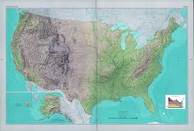 us relief map large detailed shaded relief map of the usa usa maps of the