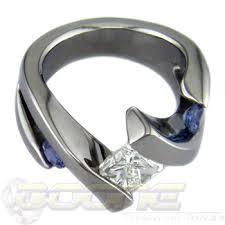titanium engagement rings cut titanium engagement rings