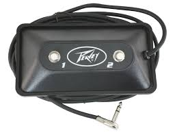 multi purpose 2 button footswitch peavey com