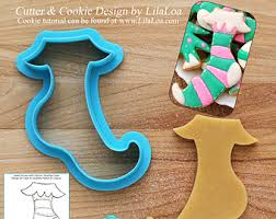 3d sleigh cookie cutters designed by lilaloa tutorial link