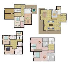 Chalet Floor Plans by Meribel Chalet Book Our Bellevue Prestige Chalet