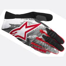 alpinestar motocross gloves alpinestars aero glove gloves bike black white red tzooiohx6b