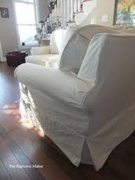 slipcover for sectional sofa sectional slipcover in duck cloth the slipcover maker