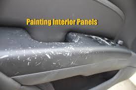 interior design simple how to paint vinyl car interior interior