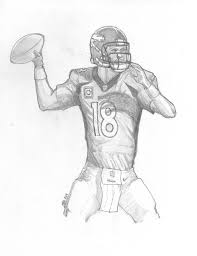 printable denver broncos coloring pages coloring me